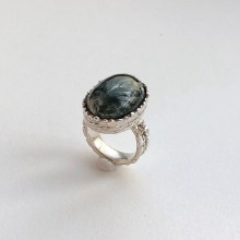 Unique Azurite Ring
